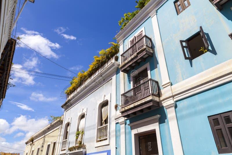 Arquitectura en San Juan imagen de archivo libre de regalías