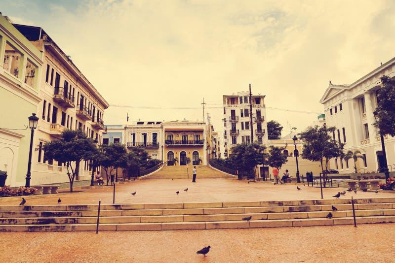 Arquitectura en San Juan foto de archivo