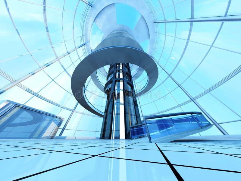 Arquitectura Futurista Imagen de archivo libre de regalías