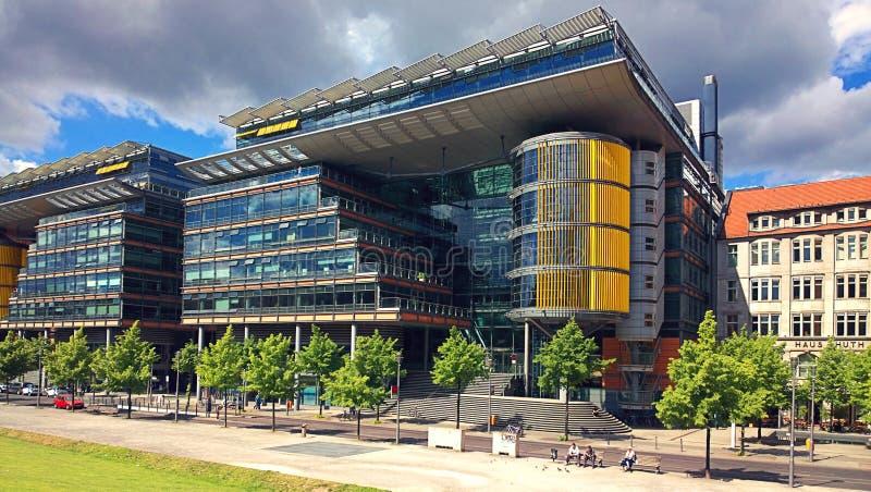 Arquitectura Futurista De Berlin Germany En Linkstrasse