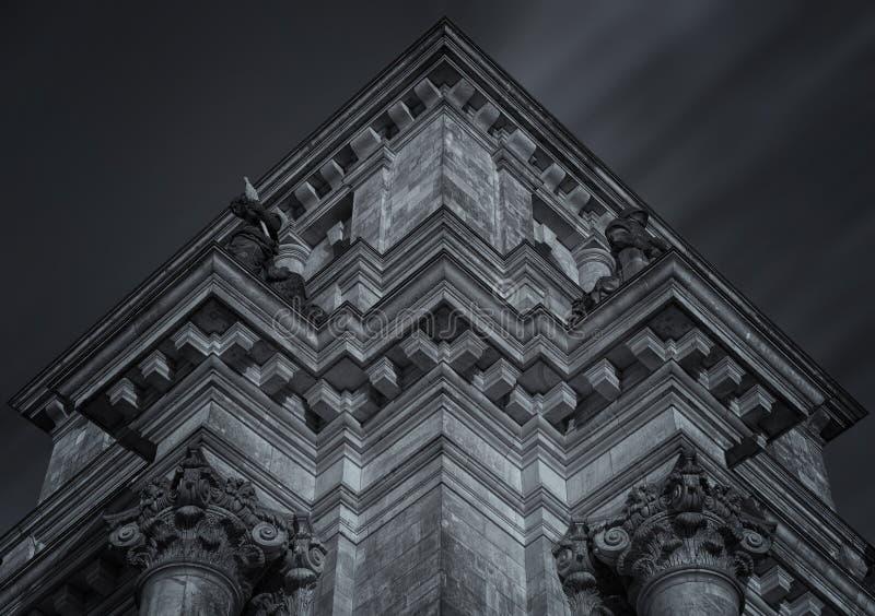 Arquitectura Gótica En Blanco Y Negro Dominio Público Y Gratuito Cc0 Imagen