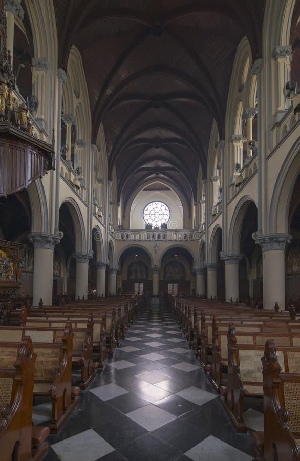 Arquitectura hermosa de Roman Catholic Cathedral fotos de archivo