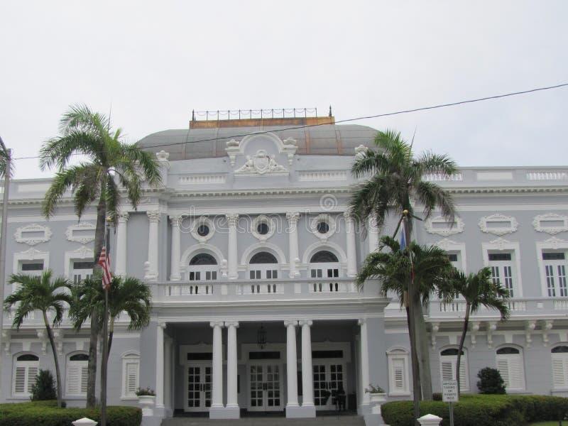 Arquitectura hermosa en San Juan foto de archivo