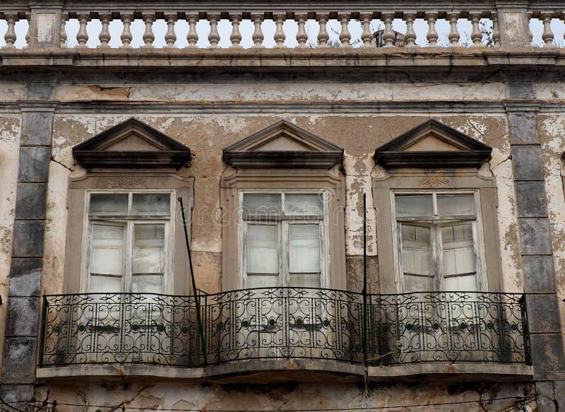 Arquitectura histórica en Tavira Portugal fotos de archivo libres de regalías