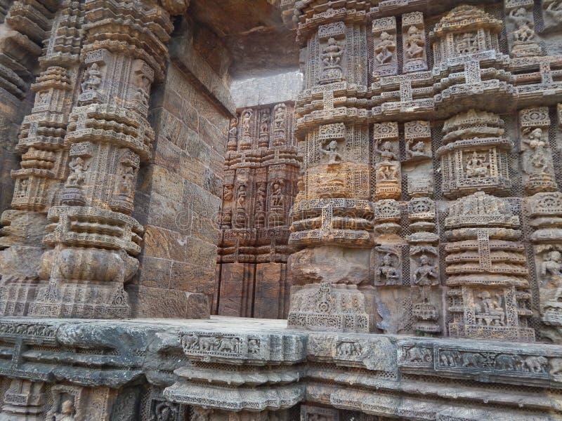 Arquitectura india imagen de archivo