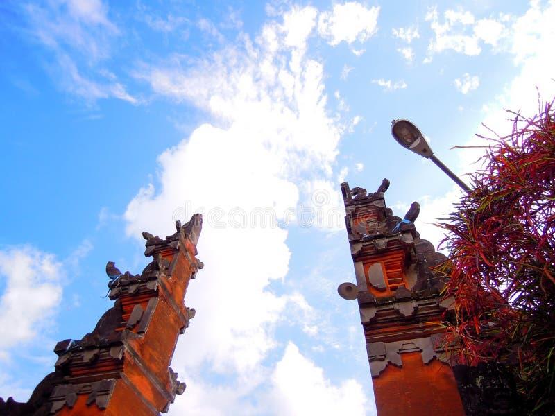 Arquitectura indonesia imágenes de archivo libres de regalías