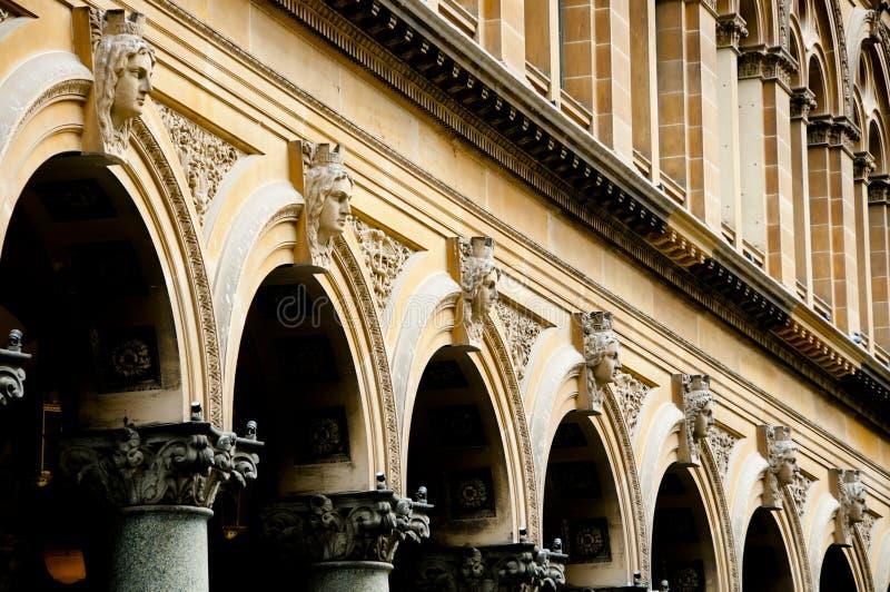 Arquitectura italiana victoriana del renacimiento foto de archivo libre de regalías