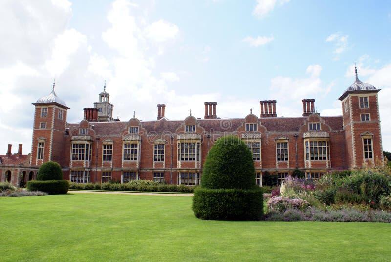 Arquitectura jacobea en Norfolk, Inglaterra imágenes de archivo libres de regalías