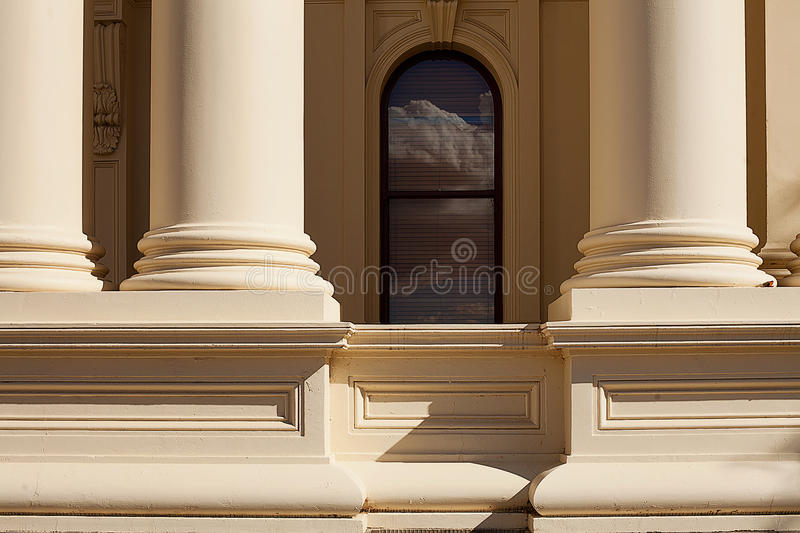 Arquitectura Launceston Tasmania fotografía de archivo