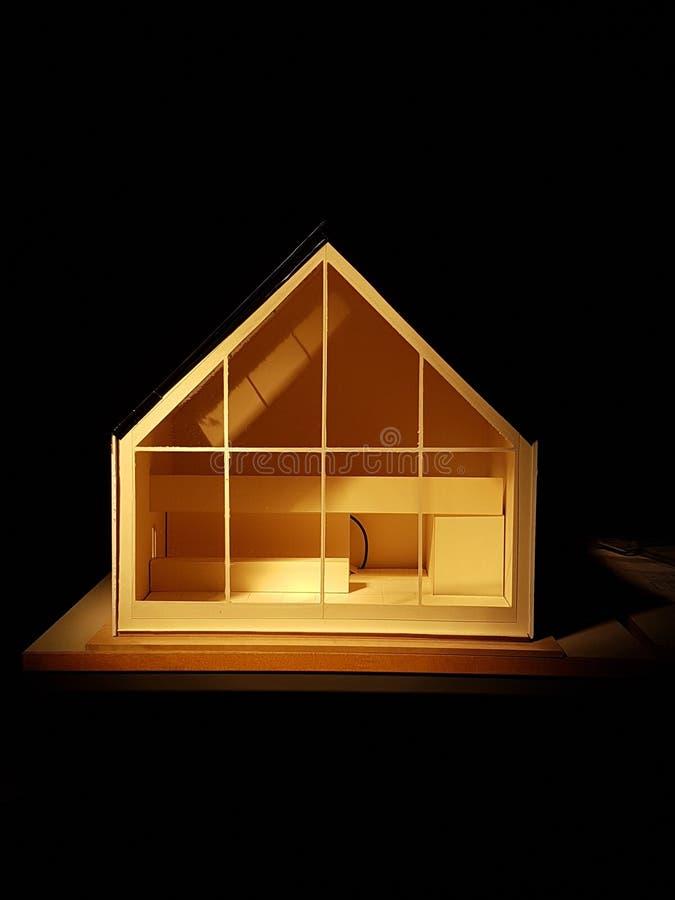 Arquitectura Maqette foto de archivo libre de regalías