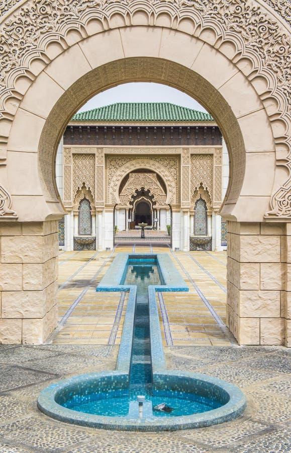 Arquitectura marroquí foto de archivo