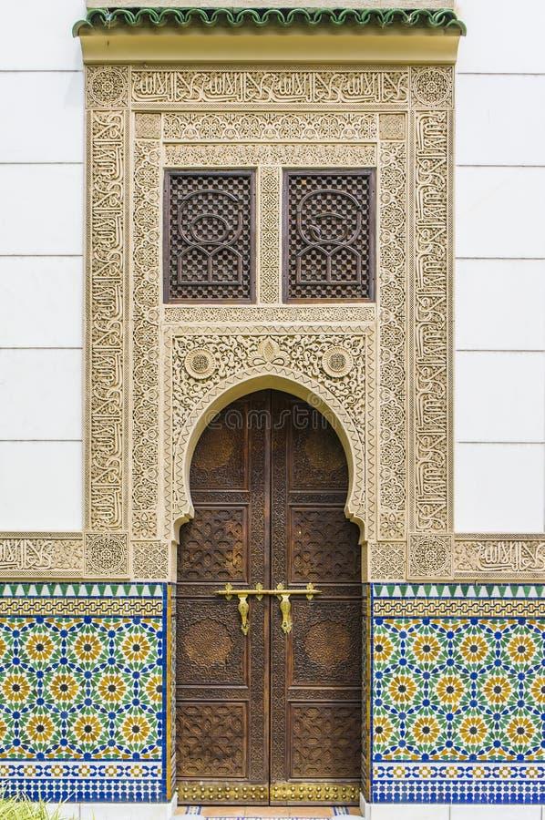 Arquitectura marroquí imagen de archivo libre de regalías