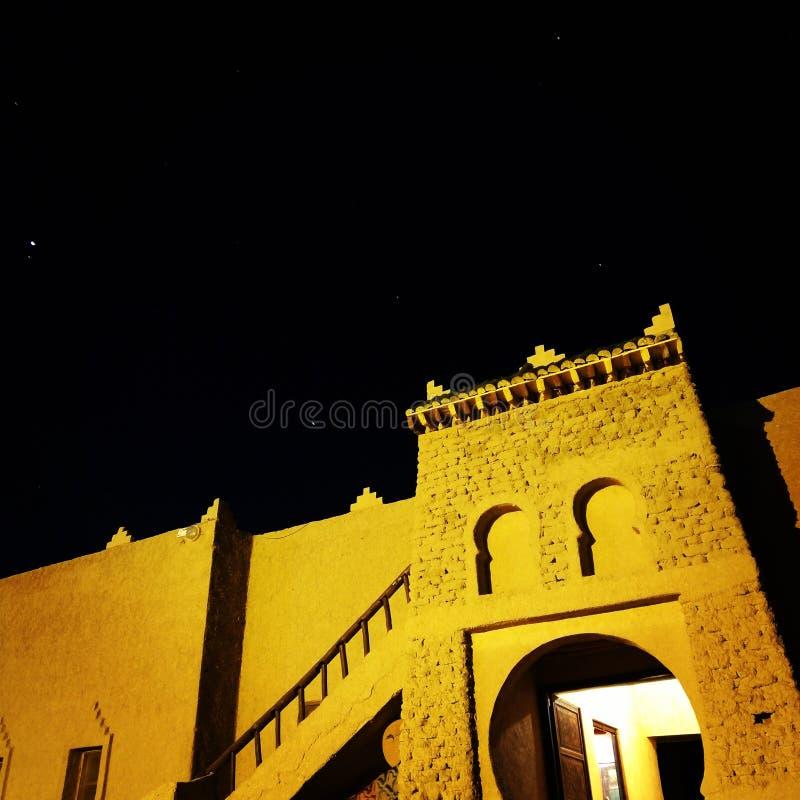 Arquitectura Marruecos de la mezquita fotos de archivo