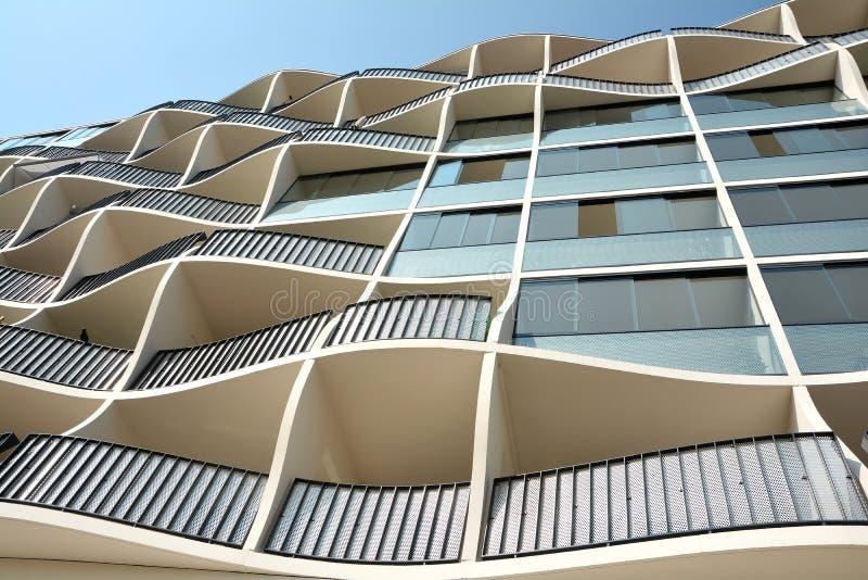 Arquitectura moderna fotografía de archivo libre de regalías