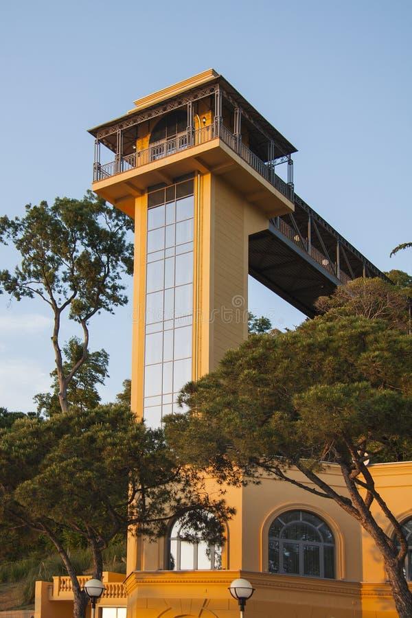 Arquitectura moderna de la costa foto de archivo libre de regalías