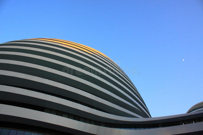 Arquitectura moderna de Pekín fotos de archivo