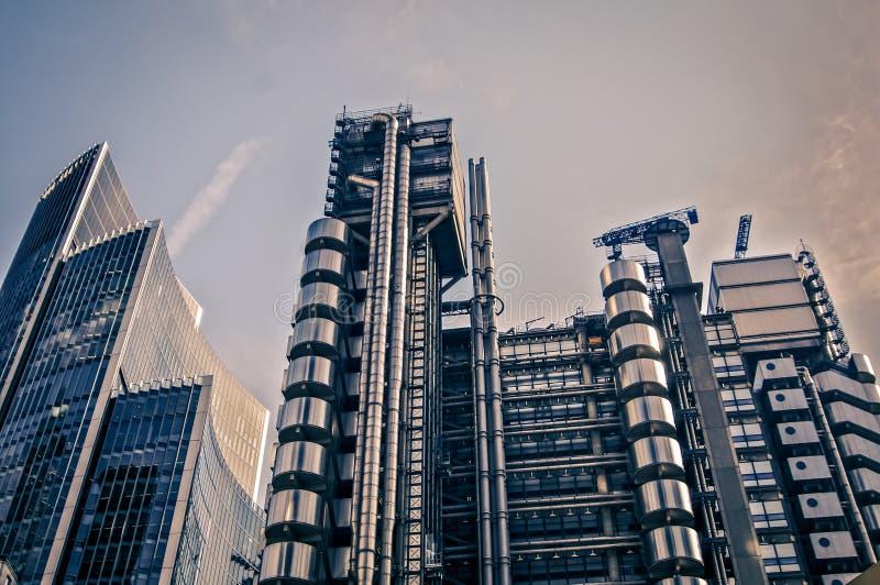 Arquitectura moderna Londres Inglaterra fotos de archivo