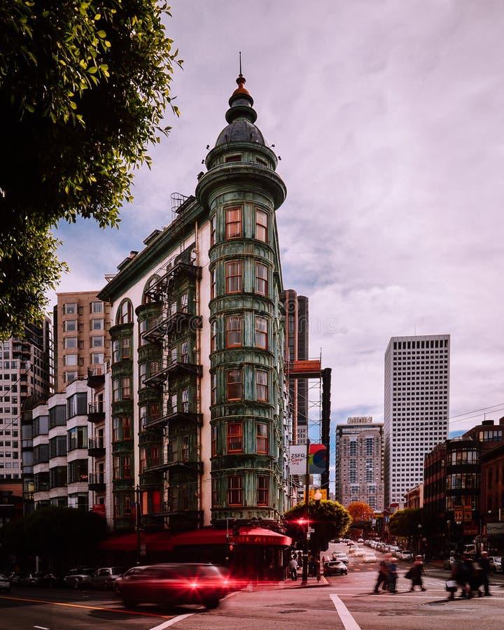 Arquitectura, San Francisco, California, los E.E.U.U. imagen de archivo libre de regalías