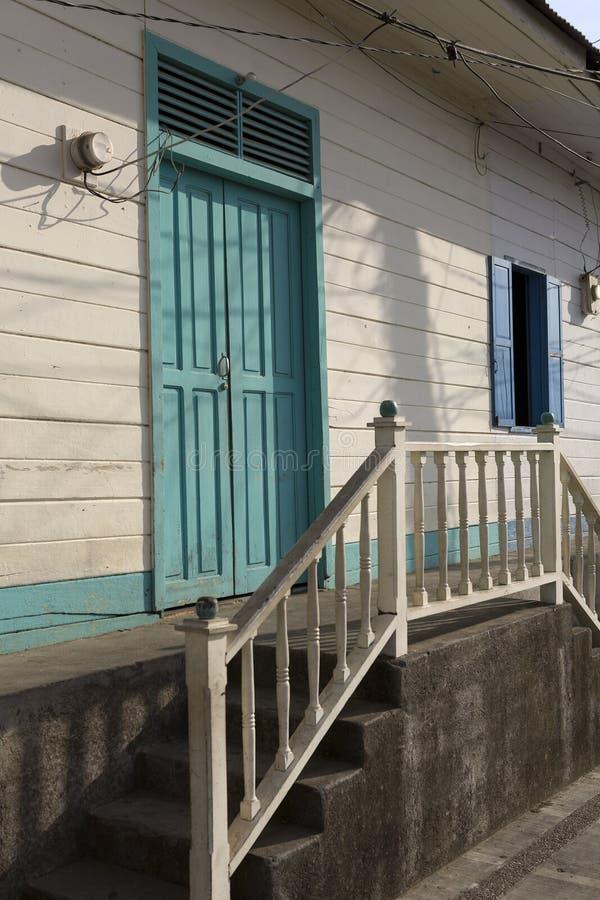 Arquitectura típica en San Juan del Sur fotografía de archivo