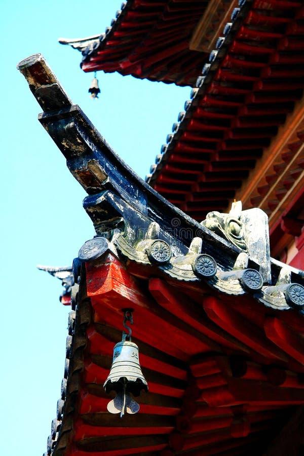 Arquitectura tradicional china de la pagoda imagen de archivo