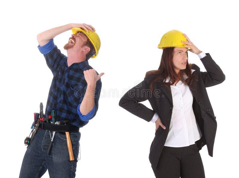 Arquiteto, arquitetura, raiva, irritada, fundo, fotografia de stock