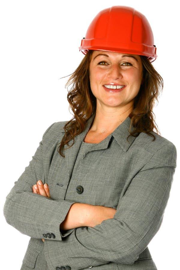 Arquiteto fêmea novo foto de stock