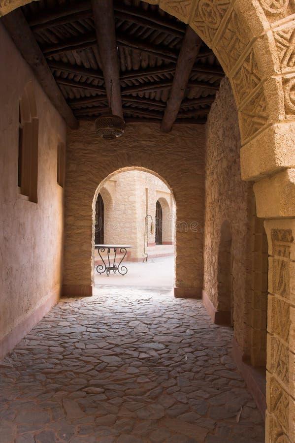 Arquitetura árabe (Marrocos) fotos de stock