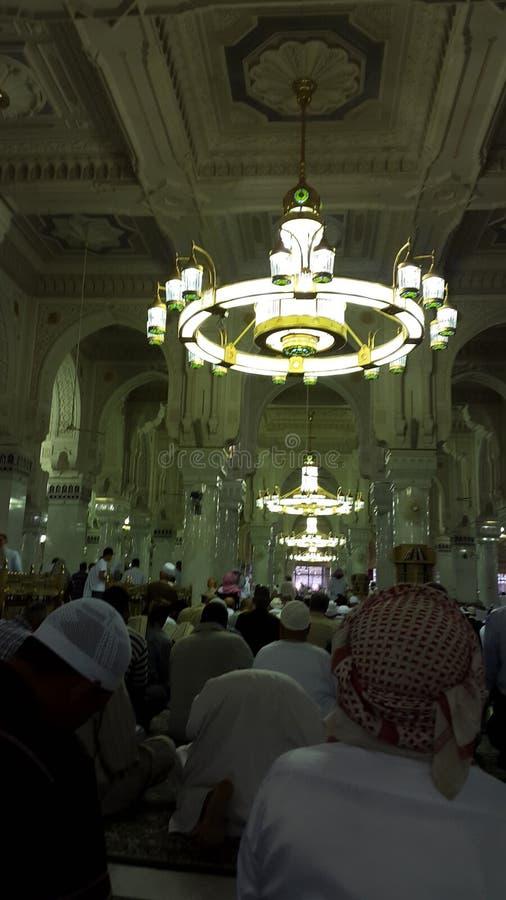 Arquitetura árabe na mesquita foto de stock