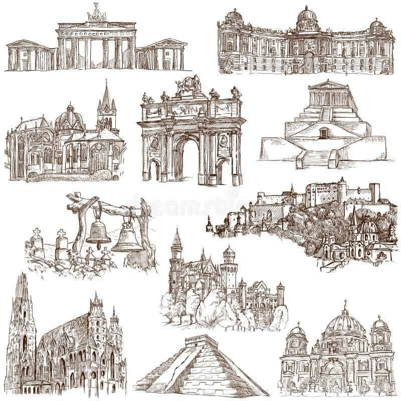 Arquitetura 4 ilustração royalty free