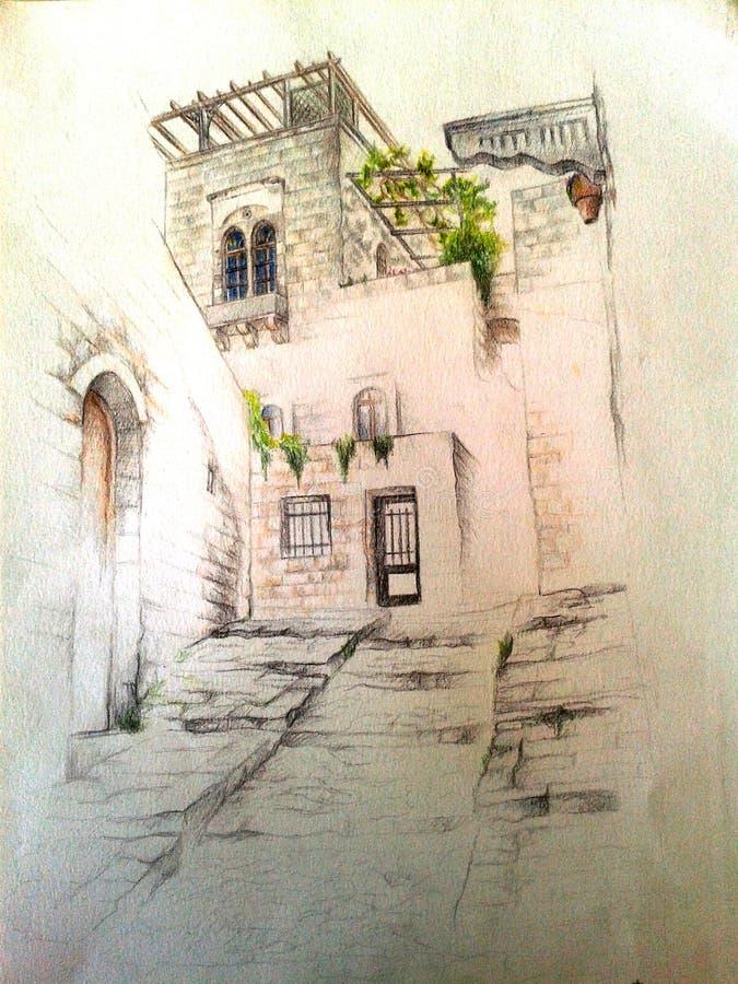 Arquitetura ilustração do vetor
