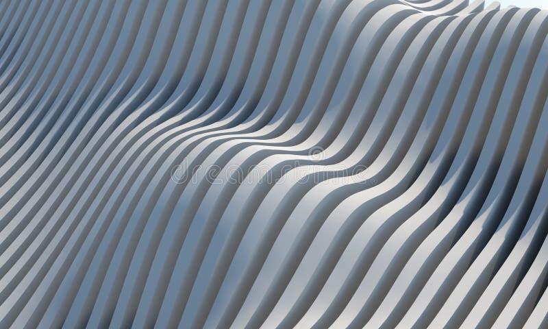 Arquitetura abstrata ilustração do vetor