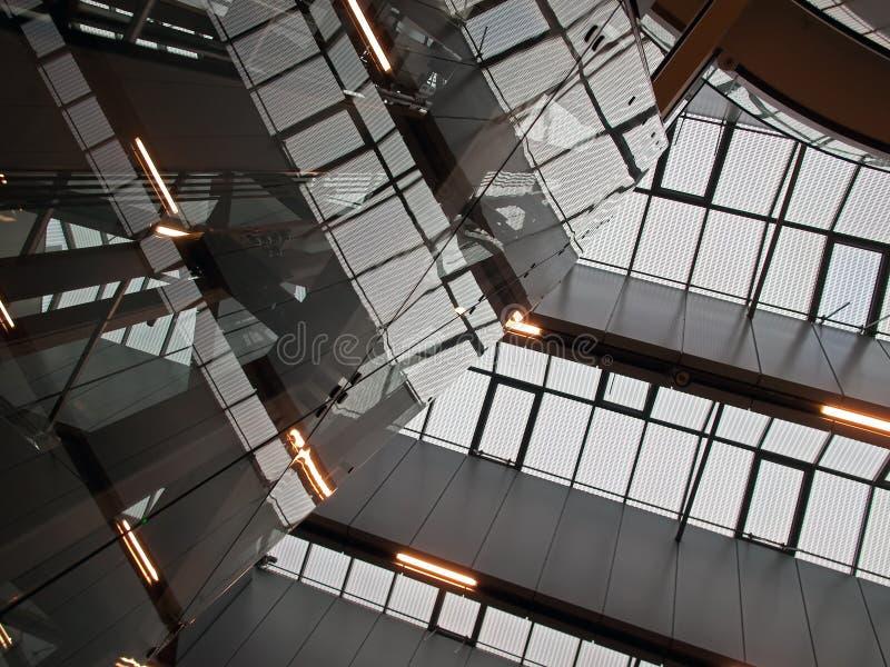 Arquitetura abstrata geométrica foto de stock royalty free