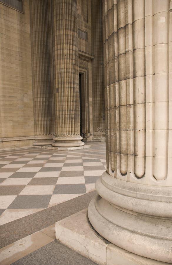 Arquitetura antic clássica fotografia de stock royalty free