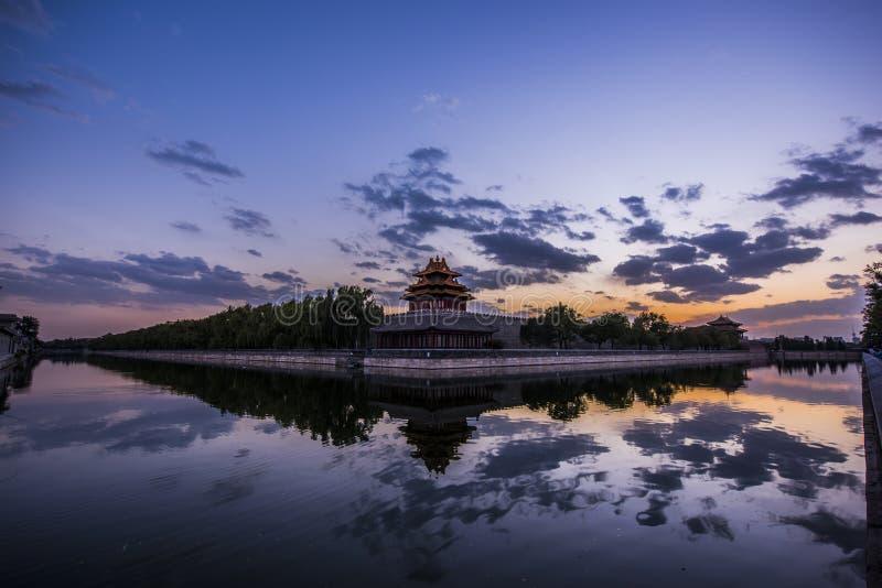 Arquitetura antiga chinesa fotografia de stock