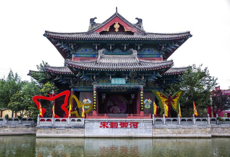 Arquitetura antiga de China imagem de stock