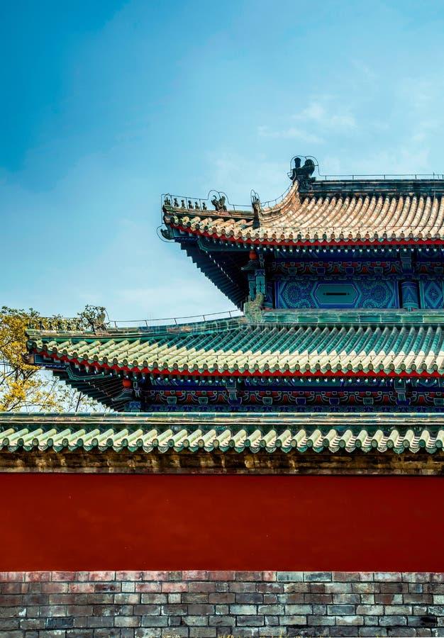 Arquitetura antiga de China imagem de stock royalty free