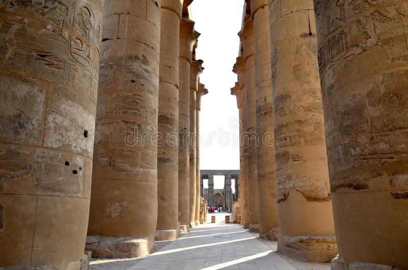 Arquitetura antiga de Egito fotografia de stock royalty free