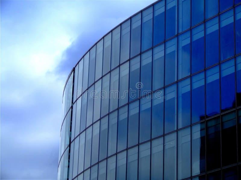 Arquitetura azul fotografia de stock royalty free