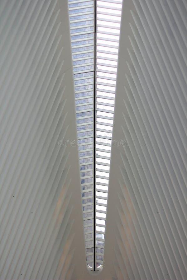 Arquitetura branca foto de stock