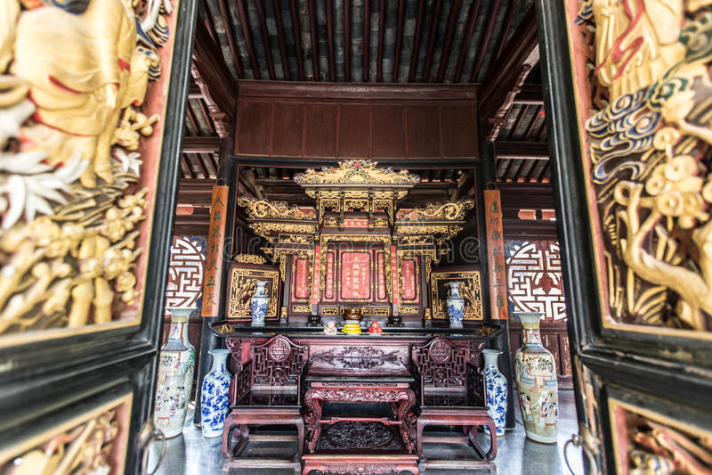 Arquitetura chinesa foto de stock