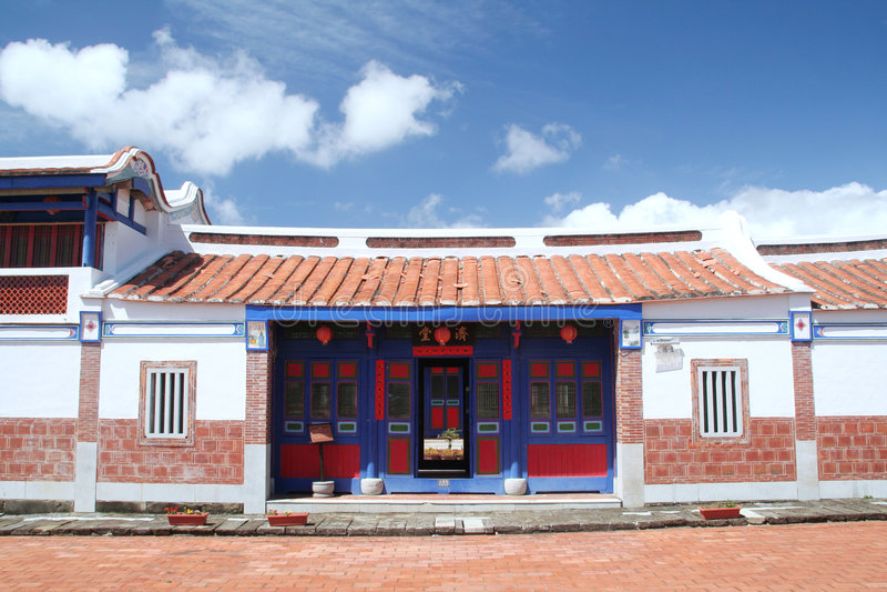 Arquitetura chinesa imagem de stock