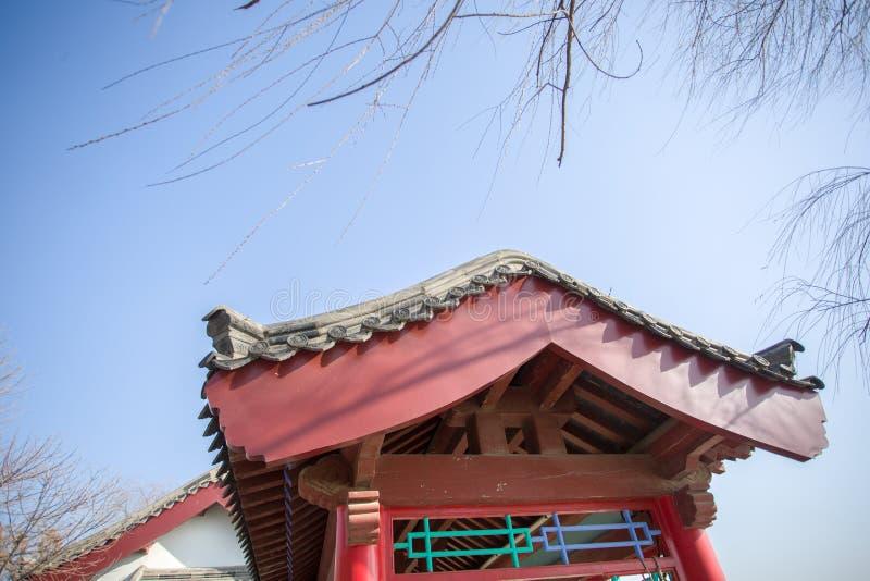 Arquitetura chinesa antiga fotografia de stock royalty free