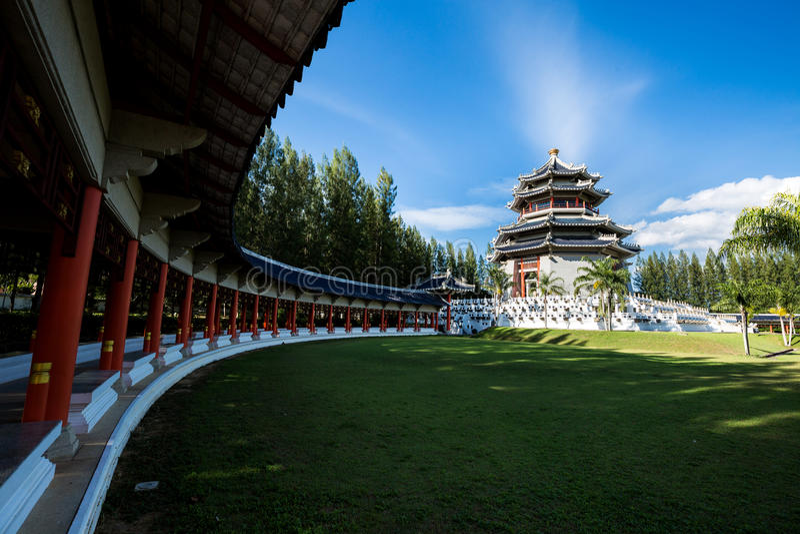 Arquitetura chinesa antiga foto de stock royalty free