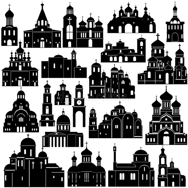 Arquitetura Christianity-2 ilustração stock