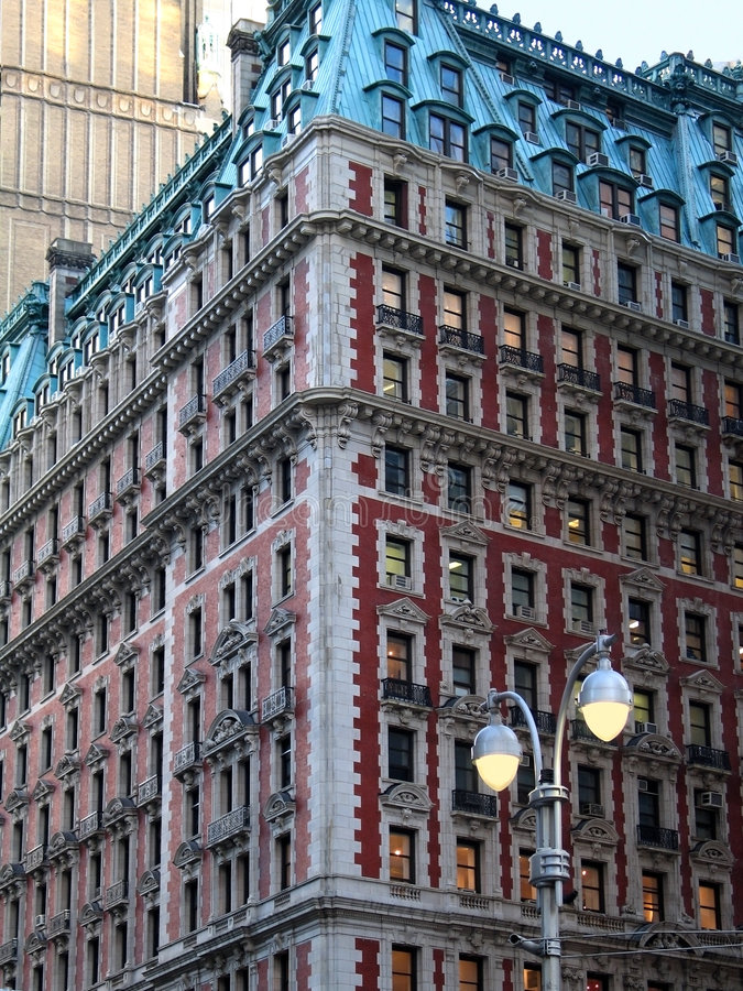 Arquitetura clássica de New York fotografia de stock