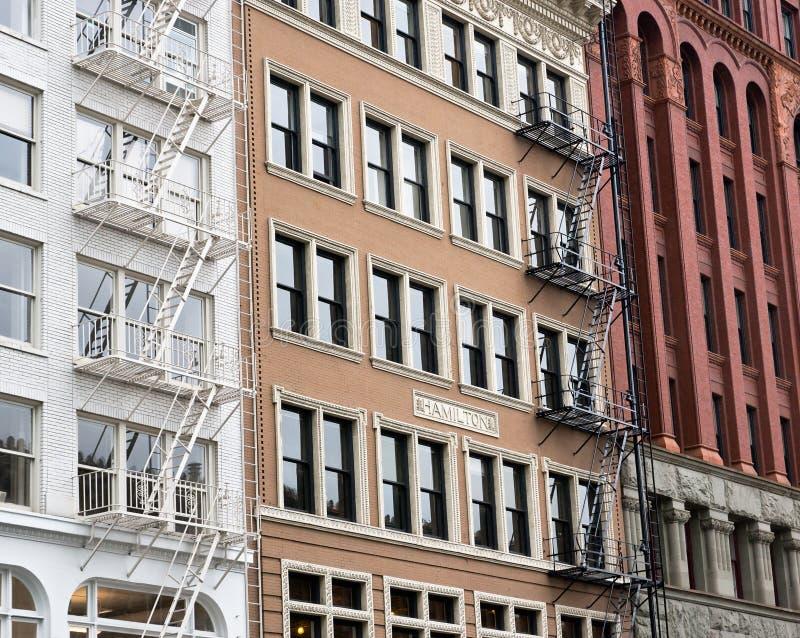 Arquitetura clássica de Portland imagem de stock royalty free