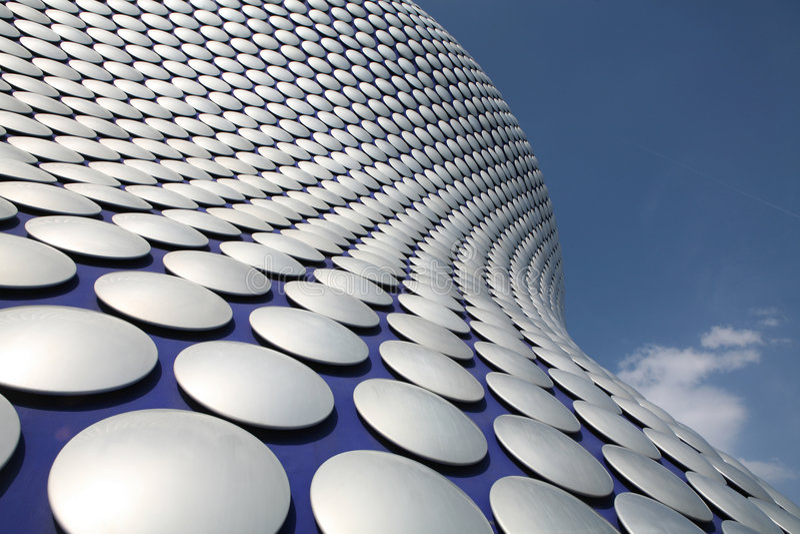 Arquitetura contemporânea fotografia de stock