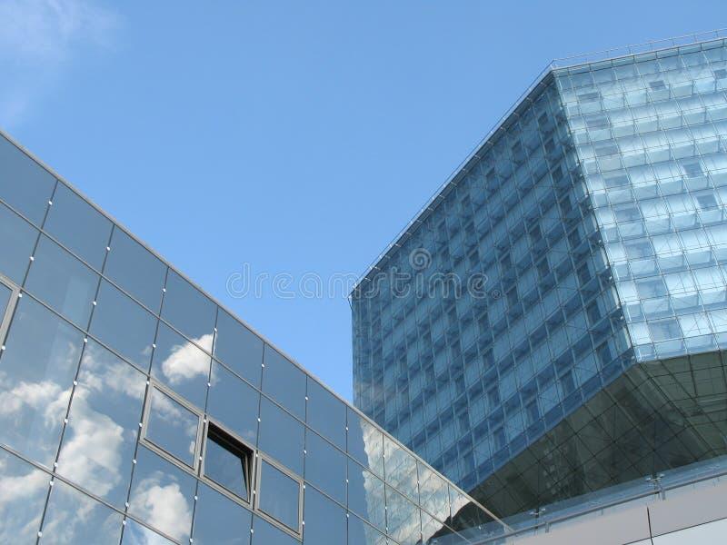 Arquitetura contemporânea imagem de stock
