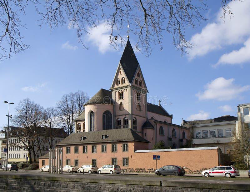 A arquitetura da água de Colônia. foto de stock royalty free