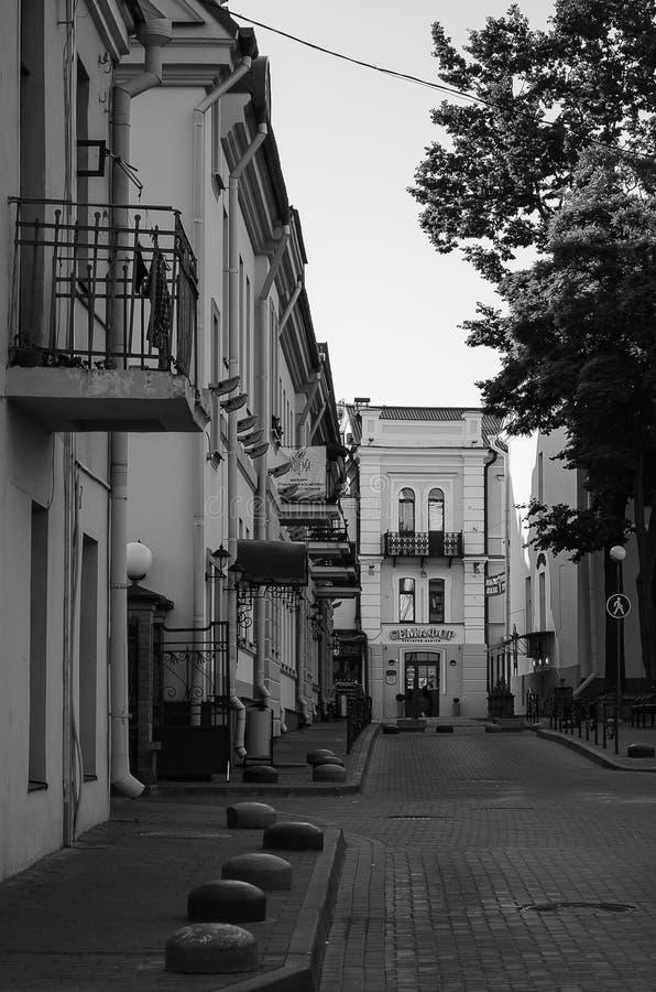 Arquitetura da cidade, construções velhas, vistas fotografia de stock